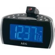 AEG MRC 4119 Projektions-Uhrenradio schwarz