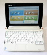 Acer's Aspire one netbook