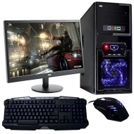 Fierce Ultra Fast Desktop, Office, Home, Family, Gaming PC Computer Bundle, 4.2GHz Quad Core, 8GB RAM, 1TB HDD, AMD Radeon HD 8570D Integrated Graphic