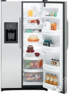 GE Freestanding Side-by-Side Refrigerator GSH22JFT