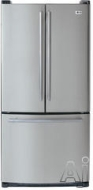 LG Freestanding Bottom Freezer Refrigerator LRFC22750