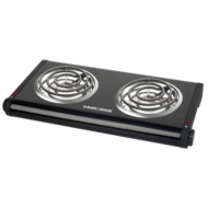 Black &amp; Decker Double Burner