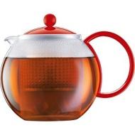 Bodum Assam Tea Press, 34-Ounce, Red