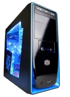 Cyberpower Infantry GT - Torre para juegos de ordenador (procesador AMD A8 5600K FM2 3.6 GHz, 8 GB RAM, 1 TB HDD, Windows 8)