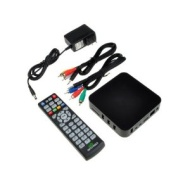 Google Android 4.0 ARM Cortex A9 HDMI HD 1080P Wifi Internet TV Set-Top Box Media Player Black