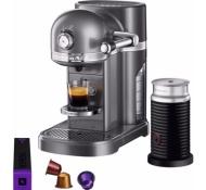 KitchenAid 5KES0504EMS/3 + Aeroccino