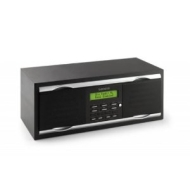 Lenco IR-2100 Internet Wi-Fi/LAN/FM /Clock Radio Wireless Media Player