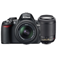 Nikon D3100 - Digital camera - SLR - 14.2 Mpix - Nikon AF-S VR DX 18-55mm lens - optical zoom: 3 x - supported memory: SD, SDXC, SDHC