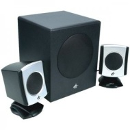 iConcepts 79033N 2.1 Speaker System with Subwoofer (Black)