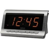 AKAI AR-180S alarm clock radio - silver