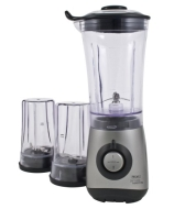 James Martin by Wahl Mini Blender, Chopper &amp; Grinder All In One 350W Titanium ZX689