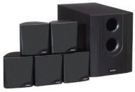Jensen JHT525 Speaker Package Black