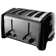 KitchenAid KPTT890NP Pro Line 4-Slice Toaster, Nickel Pearl