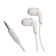 Soundlab White Digital In-Ear Stereo Earphones