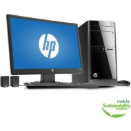"HP 110-243wb Desktop PC with AMD A4-5000 Quad-Core Processor, 8GB Memory, 21.5"" Monitor, 1TB Hard Drive and Windows 8.1"