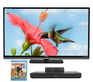 "Shp 2/26 Sharp AQUOS Quattron 60"" 1080p LED/LCD240Hz 3D HDTV"