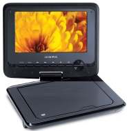 "Audiovox 7"" Screen Portable DVD Player"