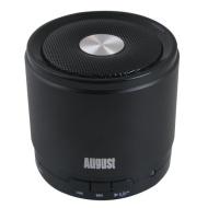 August MS425B Haut-Parleur Bluetooth Portable avec Microphone - Haut-Parleur Sans-Fil Puissant et Kit Main-Libre - Compatible avec iPhones, Samsung, G