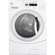 "GFWS3500LWW White 27"" Washer (Front Loading, 4.1 Cu Ft, Energy Star)"