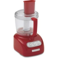 KitchenAid KFP715ER Empire Red Full Size Feed Tube 7-Cup Work Bowl Food Processor