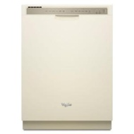 Whirlpool Bisque Full Console 24 Inch Dishwasher WDF530PAYT