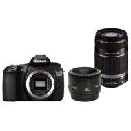 Canon EOS 60D DSLR Camera with 50mm & 55-250mm Lens Kit