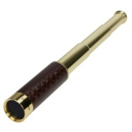 Danubia 25x30mm Brass Pocket Telescope