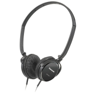Panasonic RPHC101K SlimZ Noise Cancelling Super Slim Headphone