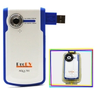 ProDV Cam Aqua-501-Blue Camcorder, FREE 2GB SVP High Speed SD Memory Card = 60 minutes video