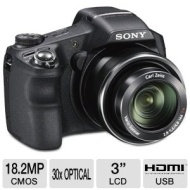 Sony Cybershot DSCHX200VB 18-Megapixel Digital Camera