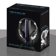 Teknique T58002 Black Wireless Headphones