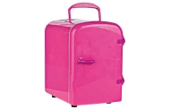4 Litre Pink Mini Fridge