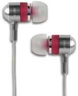Coby CVEM76RED High Performance Isolation Stereo Earphones
