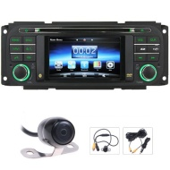 Koolertron For Jeep Grand Cherokee 1999-2004 / Chrysler 2002-2007 / Dodge 2002-2007 in-dash DVD Player GPS Navigation Sat Nav System With Dual Zone /R