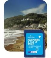 Satmap MapCard: Hampshire/Isle Wright (OS 25k, 10k)