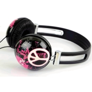 iWorld Street Art Headphones - Compatible with Apple IPod/IPhone and MP3 Player