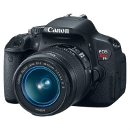 Canon EOS Rebel T4i EF-S 18-135mm, ISO 400-6400, 18.5MP