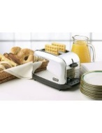 Commercial Toaster, 2 Extra Wide1-3/8 in Extra Long Slots, 120V