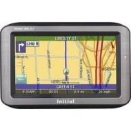 "Initial4.8"" Color Touch Screen Portable GPS Navigation System US and Canada maps pre-loaded with built-in GPS antenna"