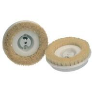 Koblenz 6 Inch Polishing Brushes Pair with Plastic Hub Part # 45-0135-9