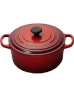 Le Creuset 7.25 qt. Round Cherry French Oven with Lid