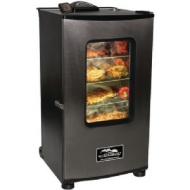 "Masterbuilt - 30"" Electric Smokehouse - Black/Stainless-Steel 20070411"