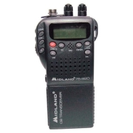 Midland 75 822 - CB radio - 40-channel - black