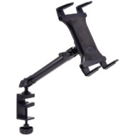 TAB804 Heavy-Duty Aluminum C-Clamp Universal Tablet Mount - 10 in.