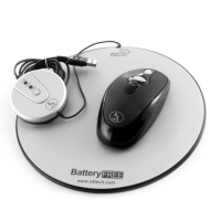 Cables Unlimited USB-2545 Eco-Friendly Battery-Free USB Wireless Optical Mouse