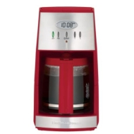 Hamilton Beach Ensemble 12-Cup Coffee Maker - Red