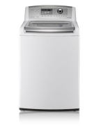 "LG Wave Series WT5101HV - washing machine - top loading - freestanding - 27"" - graphite steel"