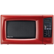 Magic Chef 0.9 Cu. Ft. Microwave Oven - Red