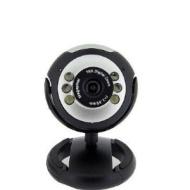 Micropix - USB Webcam With Built-in Mic For Windows XP/2000/2003/Vista/Win 7 Skype etc - 10x Digital Zoom