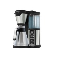 Nutri Ninja - Silver 'Auto-iQ' coffee bar with glass carafe CFO60UK